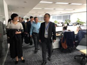 杭州市政协工商联界别委员莅临微贷网考察